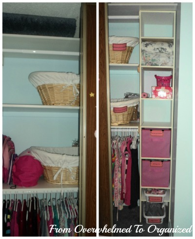 Girl's Closet After